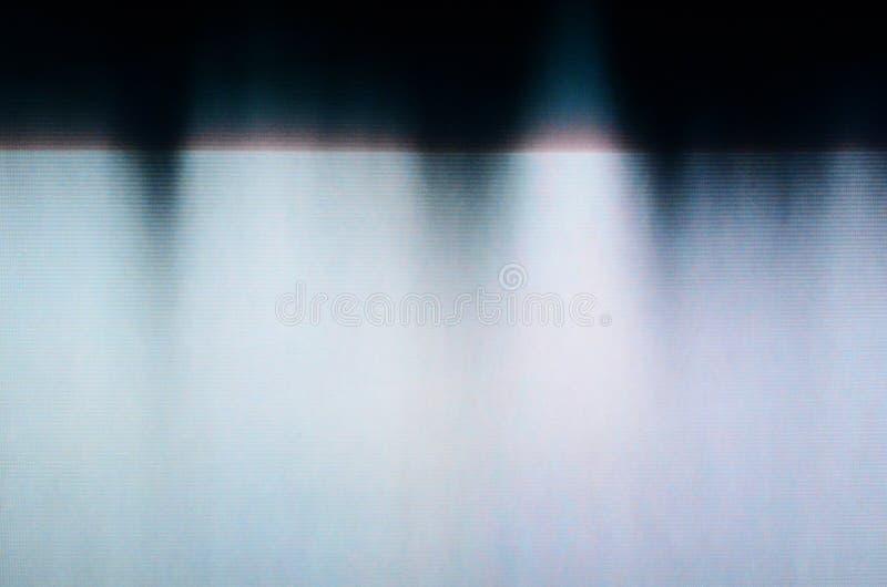 Tekniskt felTVskärm arkivbilder