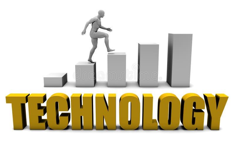 teknologi stock illustrationer