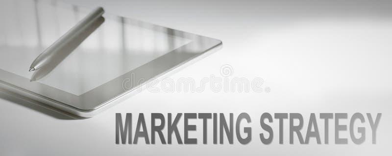 Teknologi för affärsidé för MARKNADSFÖRINGSSTRATEGI Digital royaltyfri bild