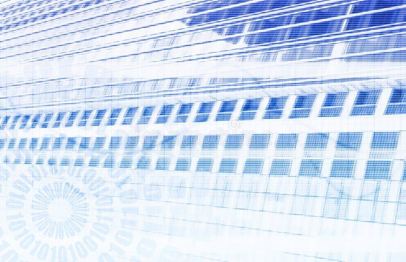 teknologi för datautvecklingsforskning stock illustrationer