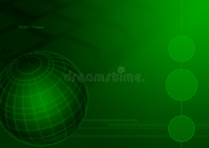 teknologi för datorjordklotinternet royaltyfri fotografi