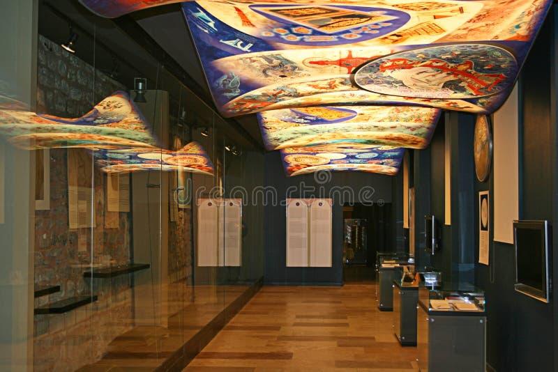 teknologi för historiemuseumvetenskap royaltyfria foton