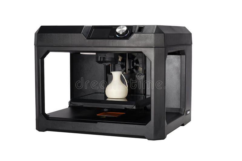 teknologi för printing 3d royaltyfri foto