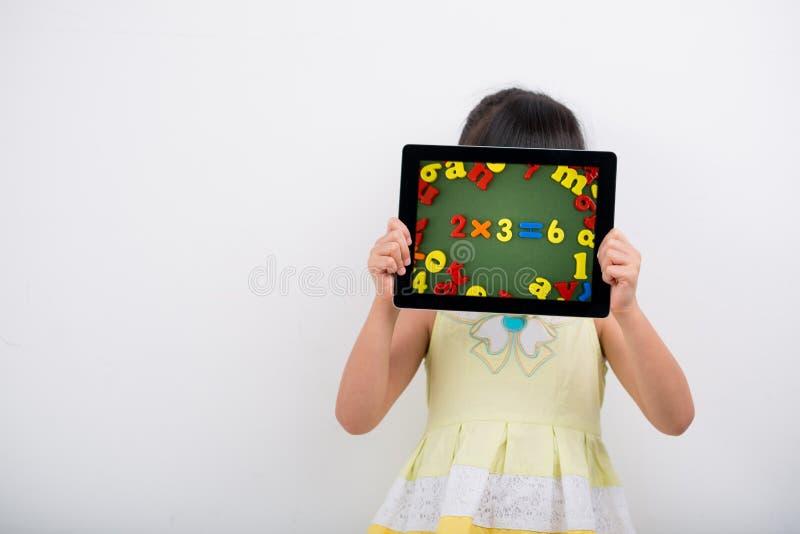 Teknologi i utbildning royaltyfri bild
