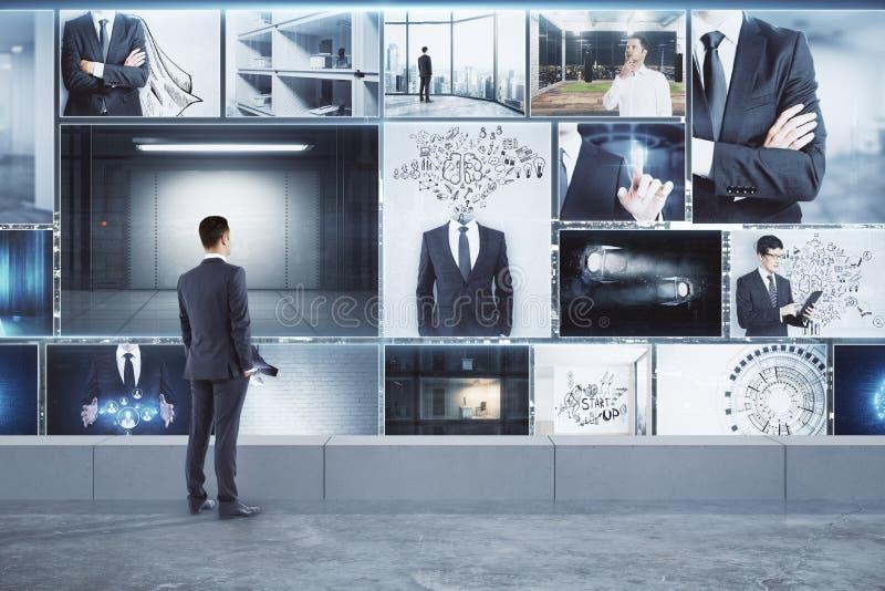 Teknologi- och framgångbegrepp fotografering för bildbyråer
