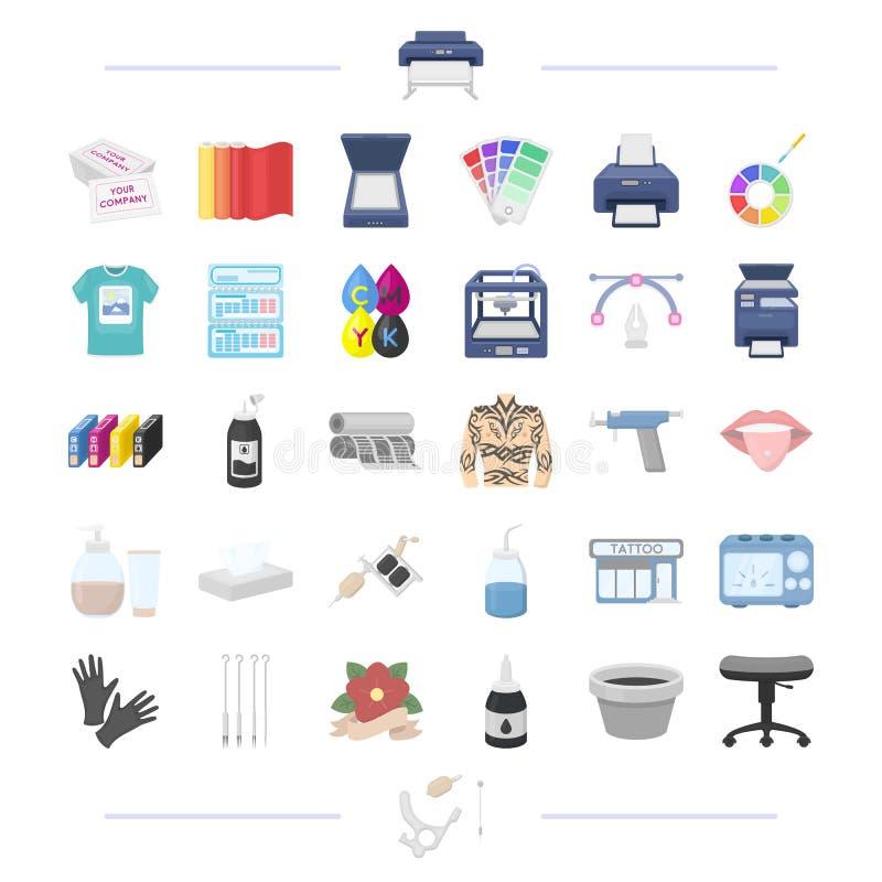 teknologi, textiler, information och annan rengöringsduksymbol vektor illustrationer