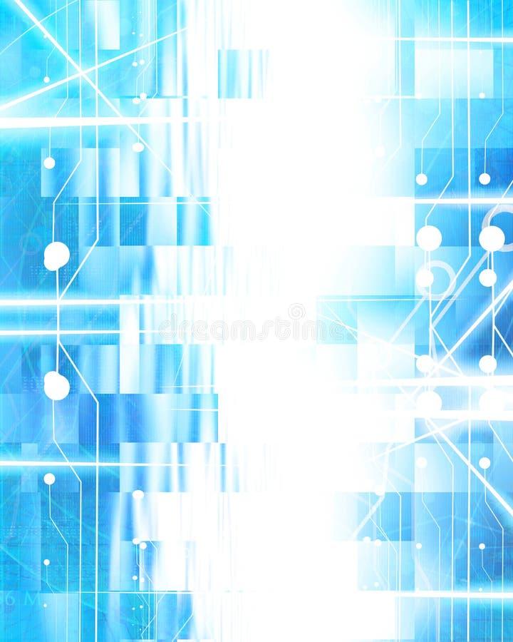 Teknologibakgrund stock illustrationer