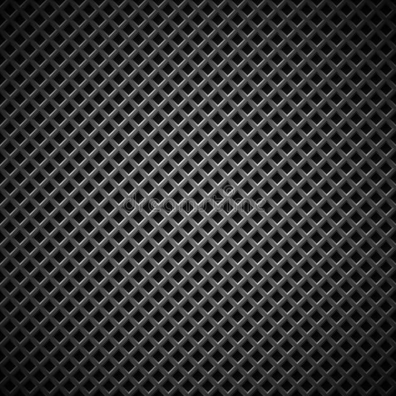 Bakgrund med Seamless svart kol texturerar stock illustrationer