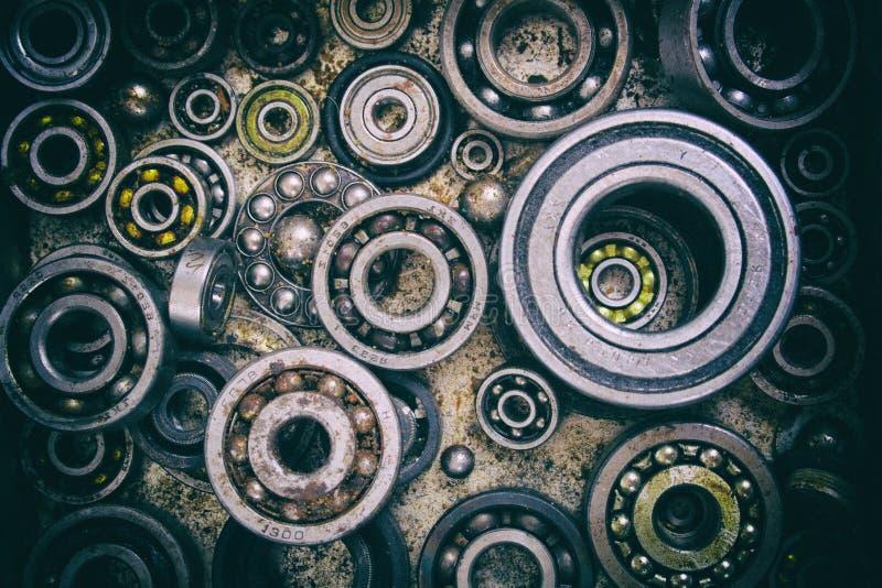 Teknologisk metallbakgrund fotografering för bildbyråer