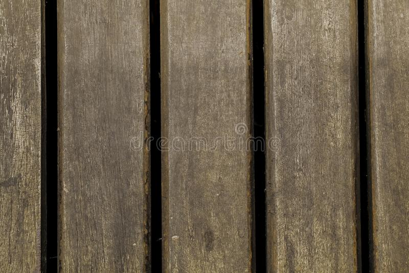 Tekowy drewniany tekstury tło fotografia stock