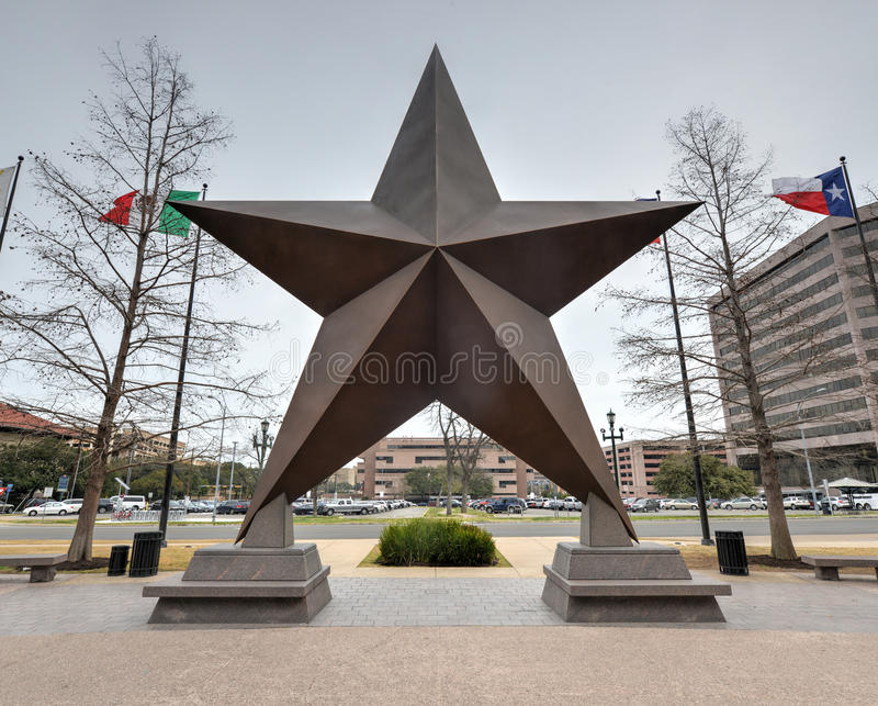 Teksas gwiazda fotografia royalty free