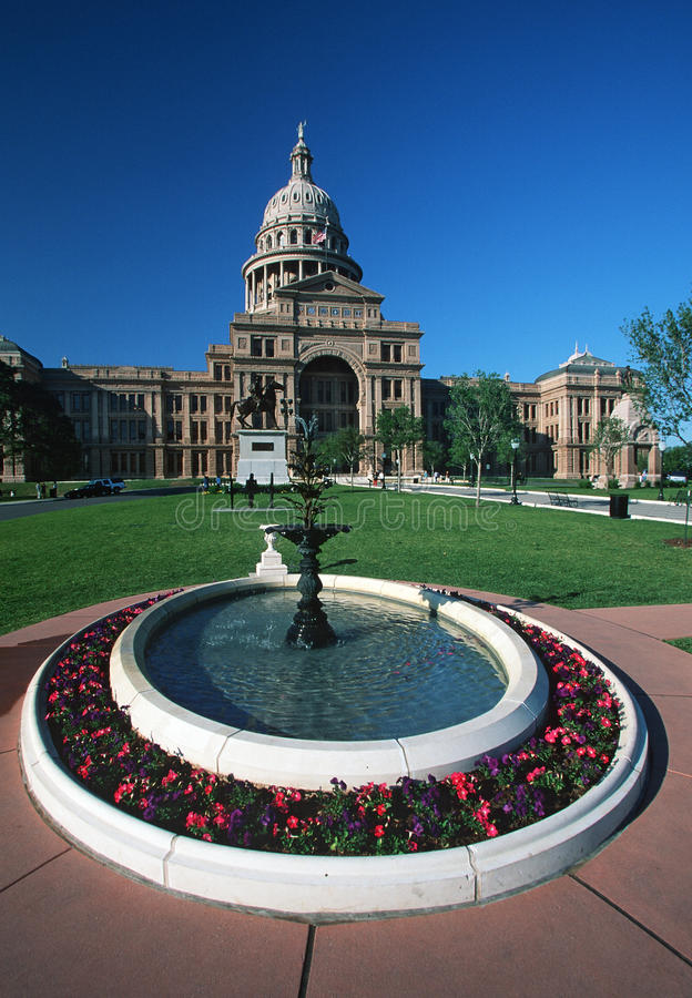Teksas stan Capitol, zdjęcia royalty free