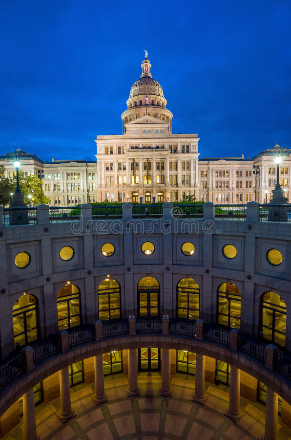 Teksas Stan Capitol budynek zdjęcia royalty free
