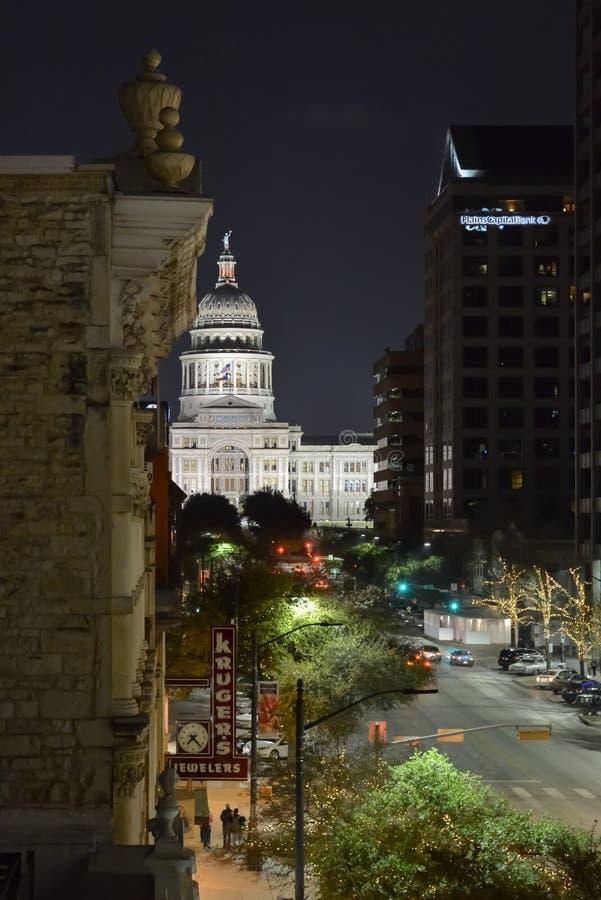 Teksas stanu Capitol budynek - Austin, Teksas obrazy royalty free