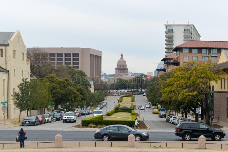 Teksas stanu Capitol budynek - Austin, Teksas zdjęcie royalty free