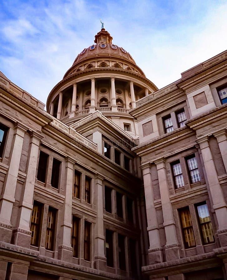 Teksas stanu Capitol budynek w Austin Teksas zdjęcia stock