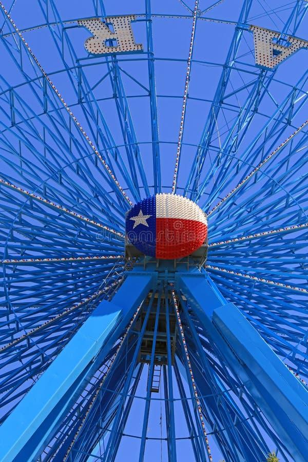 Teksas stanu Ferris Uczciwy koło zdjęcie royalty free
