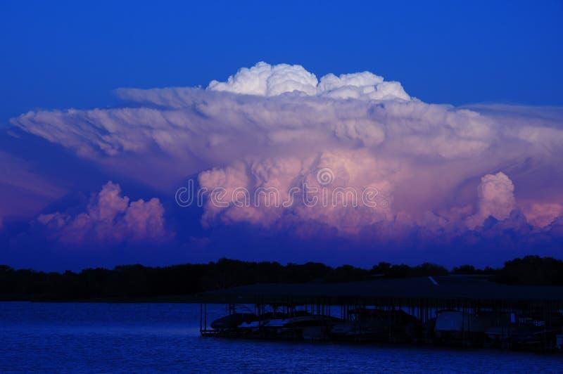 Teksas Supercell zdjęcia stock