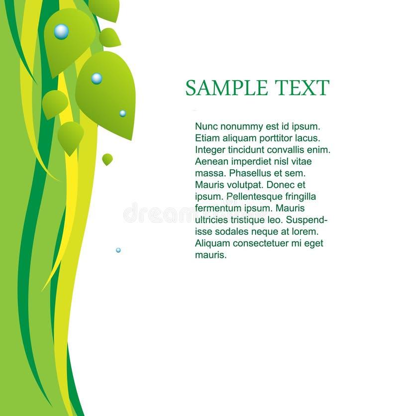 Tekst stock illustratie