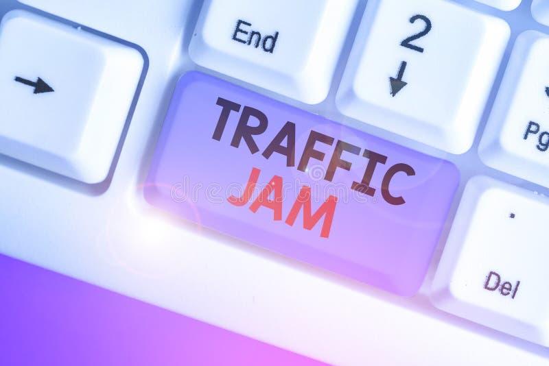 Tekst do pisania w formacie Word Traffic Jam Koncepcja biznesowa dla dużej liczby pojazdów blisko siebie i niezdolnych do porusza zdjęcie royalty free