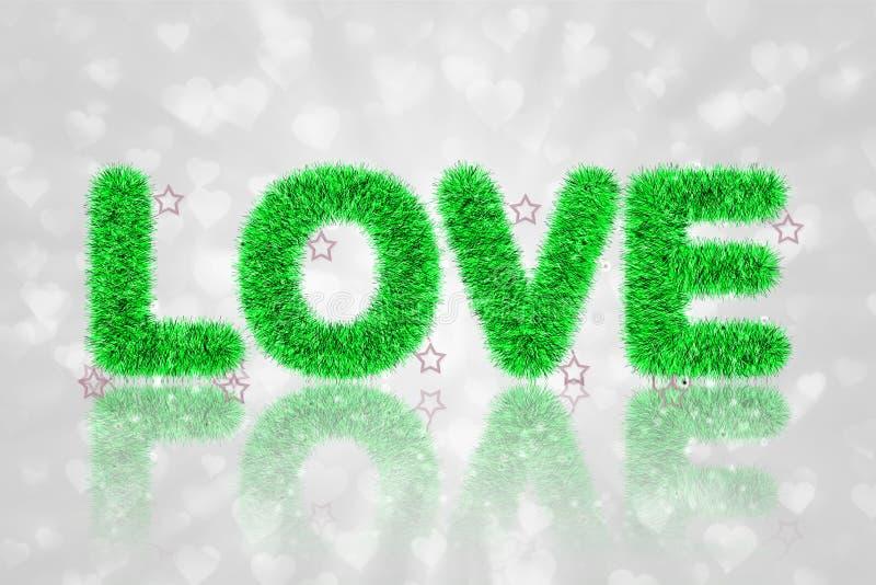 Download Tekst Miłość Z świecidełko Wzorem Ilustracji - Ilustracja złożonej z wita, heart: 28954672