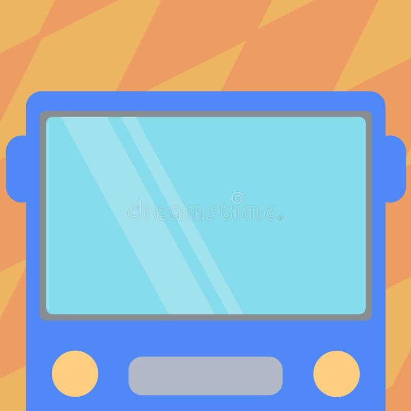 Tekst ontwerp van het bedrijfsconcepten de Lege exemplaar voor de promotie materiële spot van Webbanners op malplaatje Getrokken  royalty-vrije illustratie