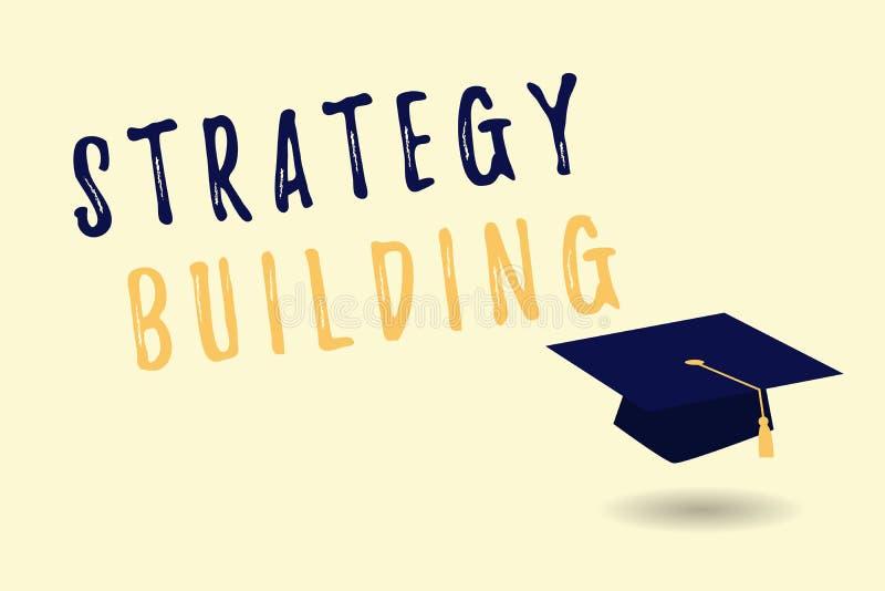 Tekst strategii szyldowy pokazuje Budować Konceptualna fotografia Wspiera kupienie i nabywanie inny platformy ilustracji