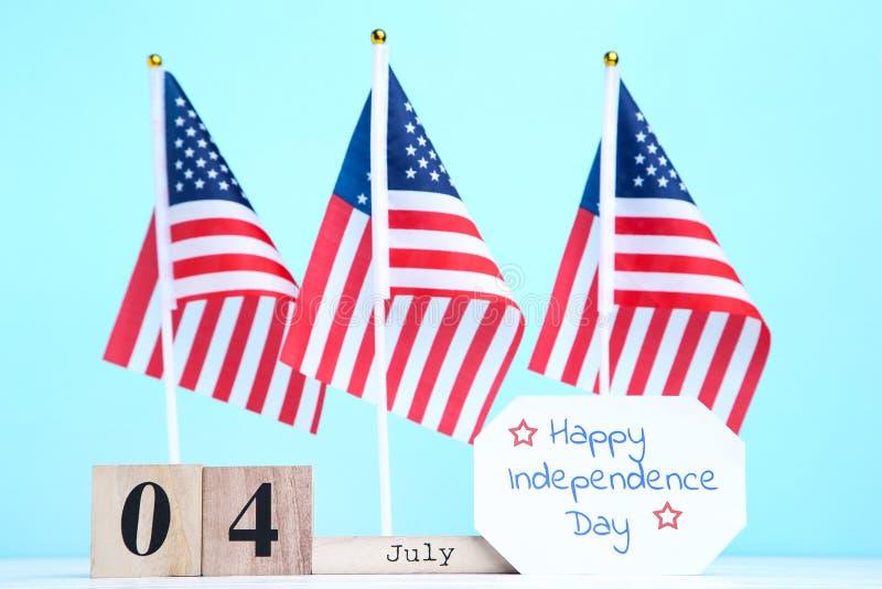 Teksta Szczęśliwy dzień niepodległości zdjęcie stock
