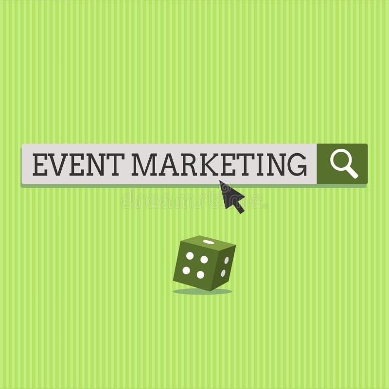 Teksta wydarzenia szyldowy pokazuje marketing Konceptualna fotografia opisuje proces rozwijać pokazu promować produkt ilustracji