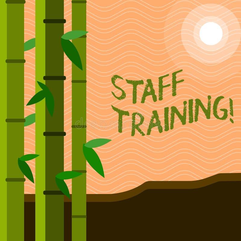 Teksta znak pokazuje Pięcioliniowego szkolenie Konceptualnej fotografii nauczania pracy zespołowej rzeczy pracownika edukacji now ilustracji