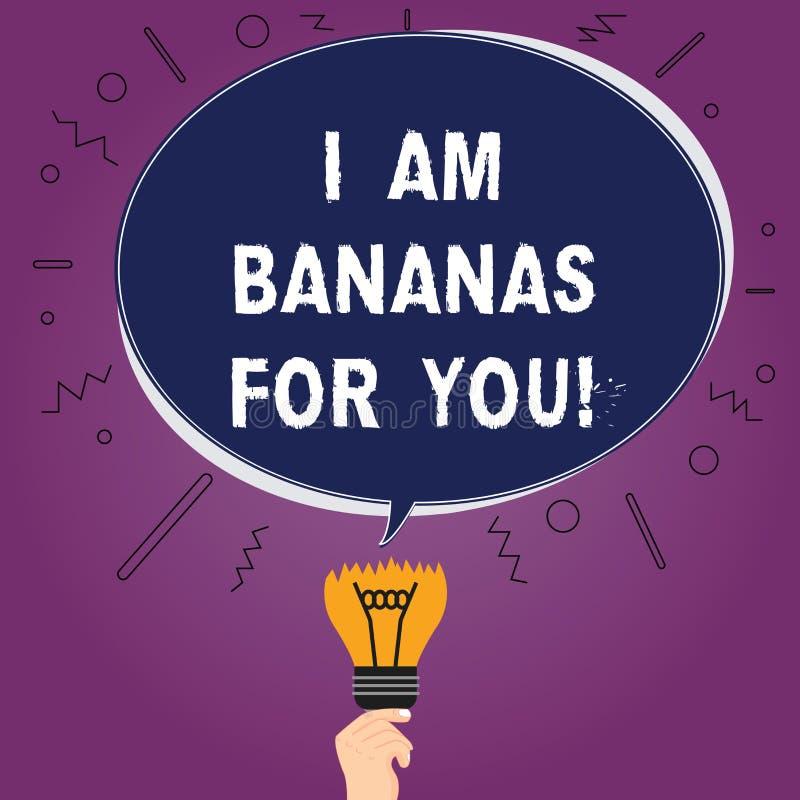 Tekstteken Die Ben Ik Bananen Voor U Tonen Conceptuele Foto