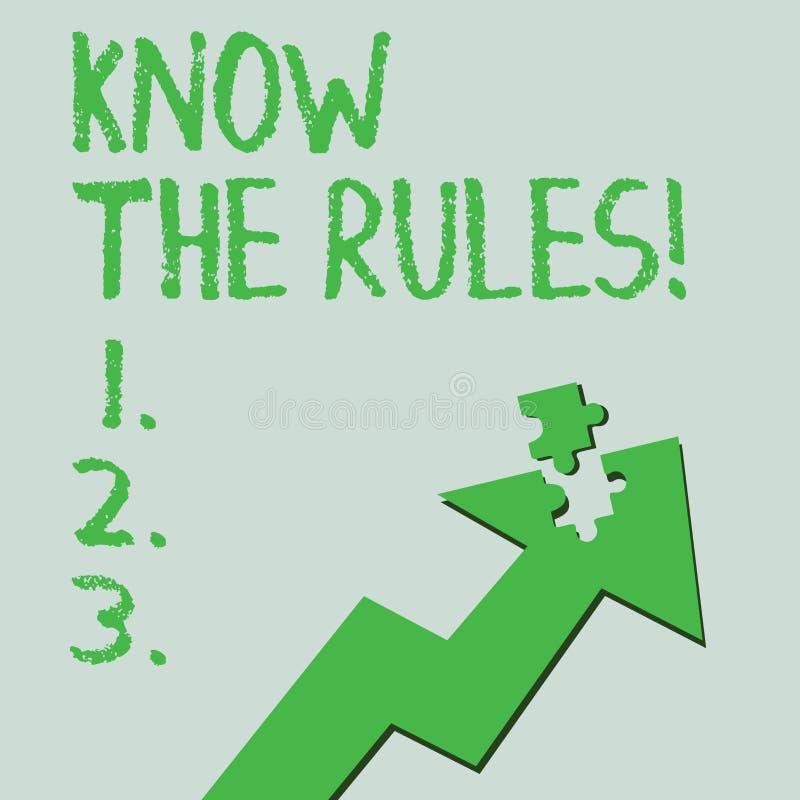 Tekstteken het tonen kent de Regels E vector illustratie