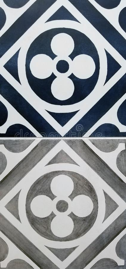 Tekstur serie - Nowożytni płytka wzory obraz royalty free
