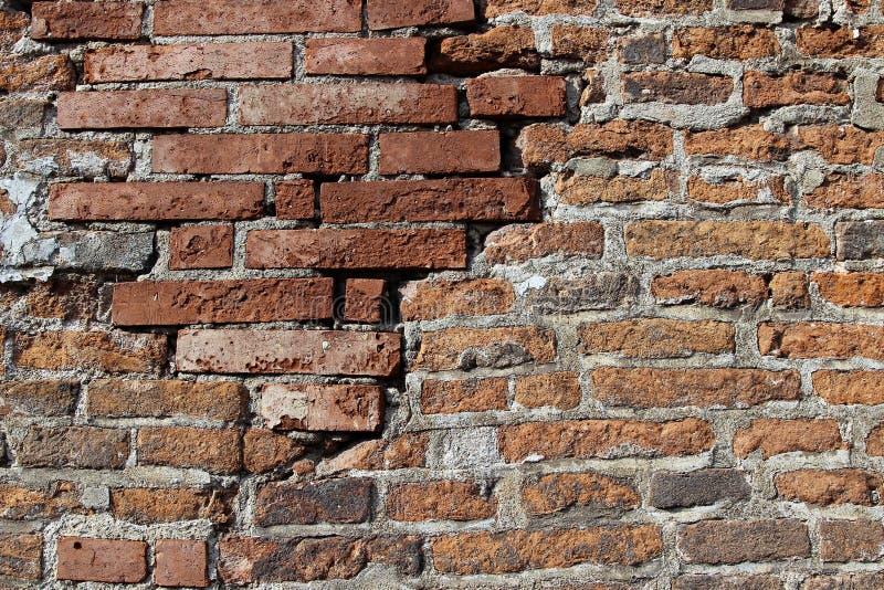 Tekstura ściana z cegieł zdjęcia stock