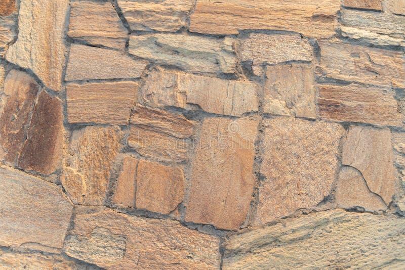 tekstura, żółta kamieniarka na footpath zdjęcie royalty free