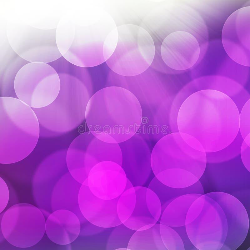 Tekstura, abstrakcjonistyczny tło jest kolorowym bokeh światłem od słońca dla szczęśliwego dnia nowego roku, bożych narodzeń i inn royalty ilustracja