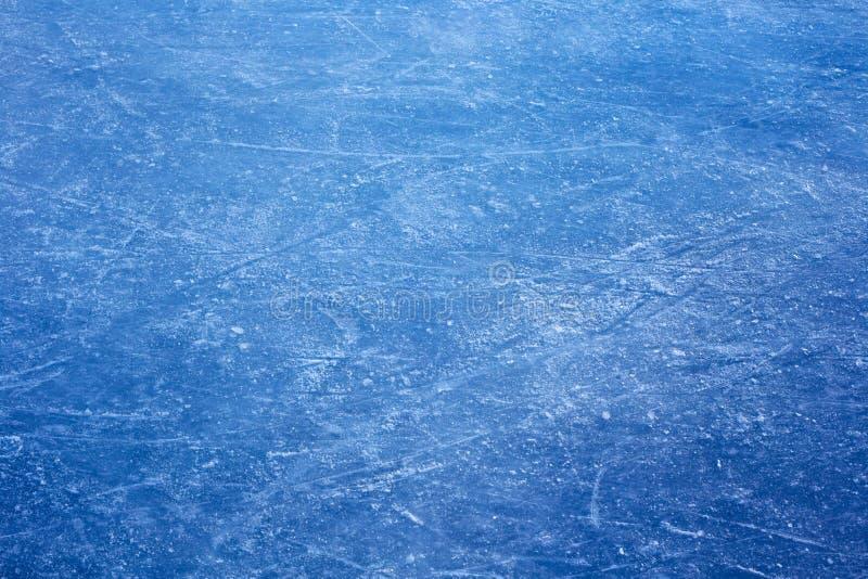 Tekstura błękitny lód obraz stock