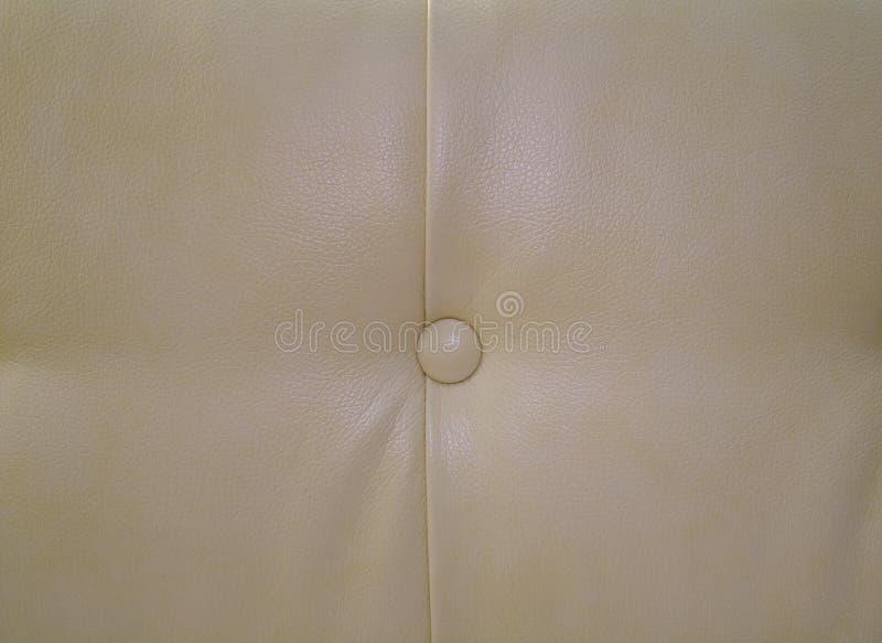 Tekstura barwionego rzemiennego tapicerowania wspaniała leżanka zdjęcie stock