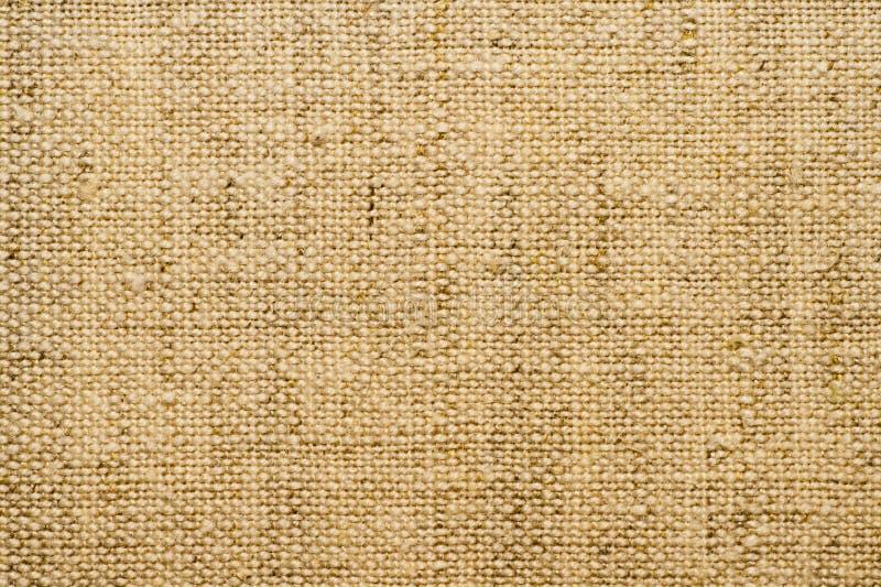 Tekstura bieliźnianego płótna zakończenie up Tło Tkani naturalni materiały obraz royalty free