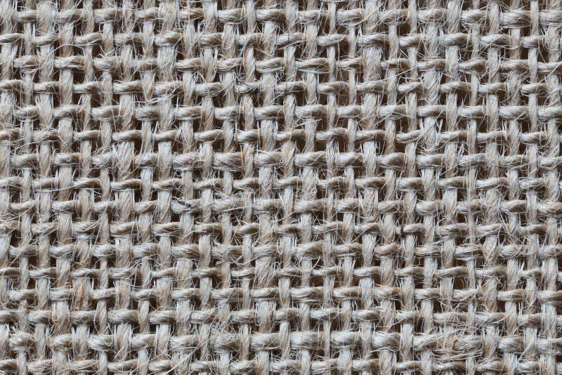 Tekstura brown konopie worek zdjęcie royalty free