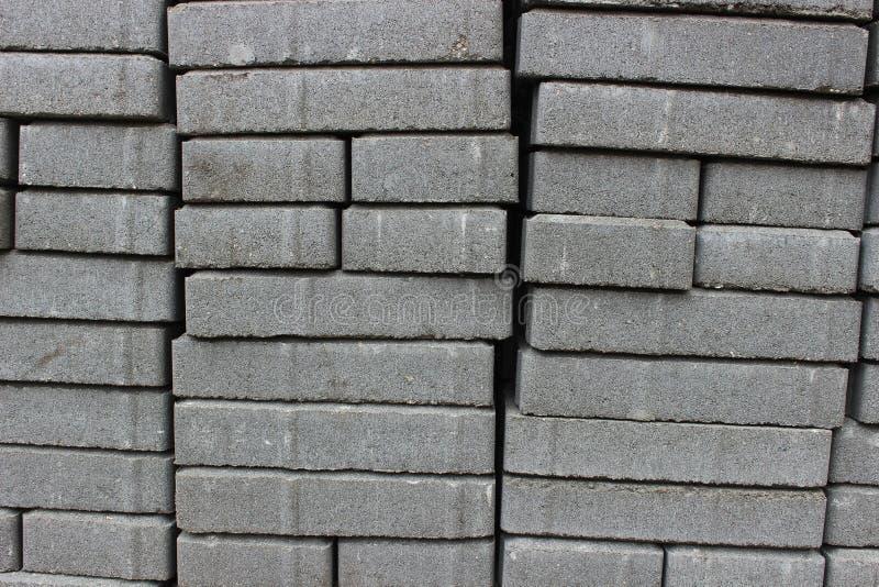 Tekstura brukowych kamieni sterta zdjęcie stock