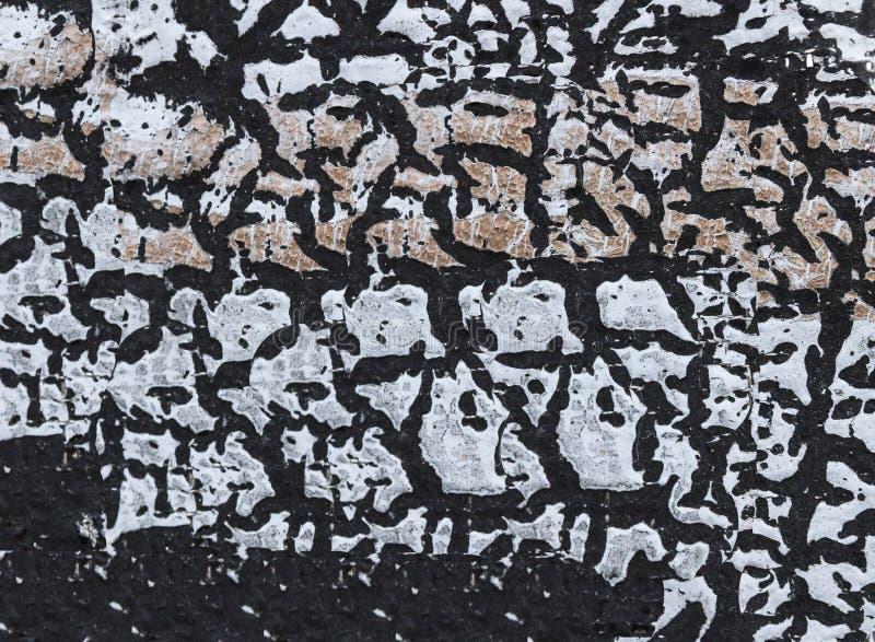 Tekstura czerń i szarość kształtuje w zakończeniu w górę strzału zdjęcie royalty free