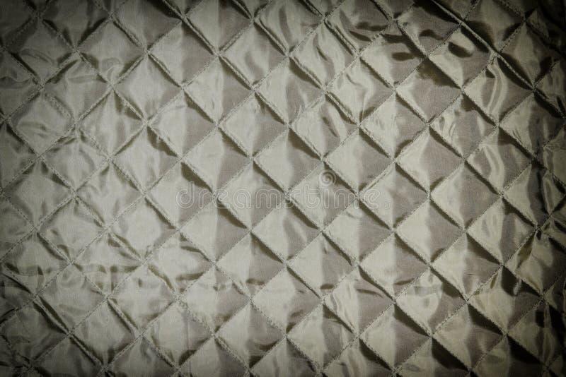 Tekstura, czerni wacianą tkaninę zamkniętą w górę Pusty tło dla układów fotografia stock