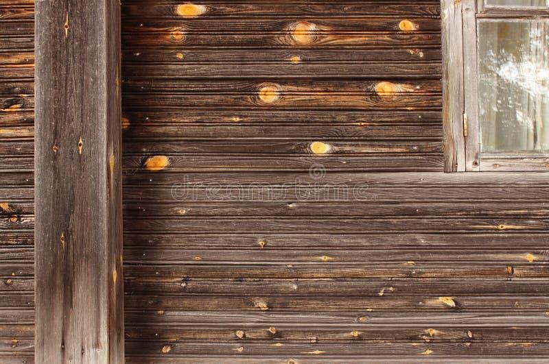 Tekstura czysty drewno na ścianie zwyczajna stara drewniana hThe tekstura czysty drewno na ścianie zwyczajny drewniany dom zdjęcia royalty free
