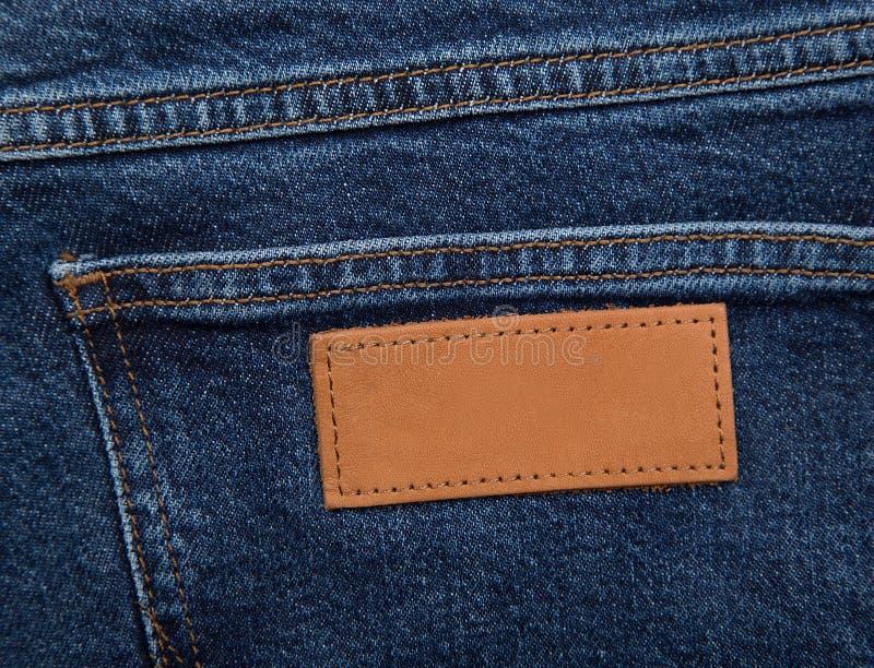 Tekstura dżinsowa Zbliżenie Jeansów obraz stock