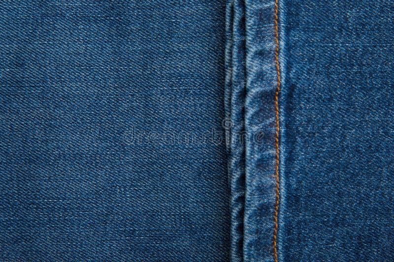 Tekstura dżinsowa Zbliżenie Jeansów zdjęcie stock