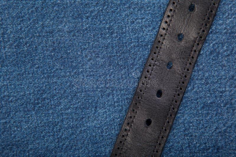 Tekstura dżinsowa Zbliżenie Jeansów fotografia stock