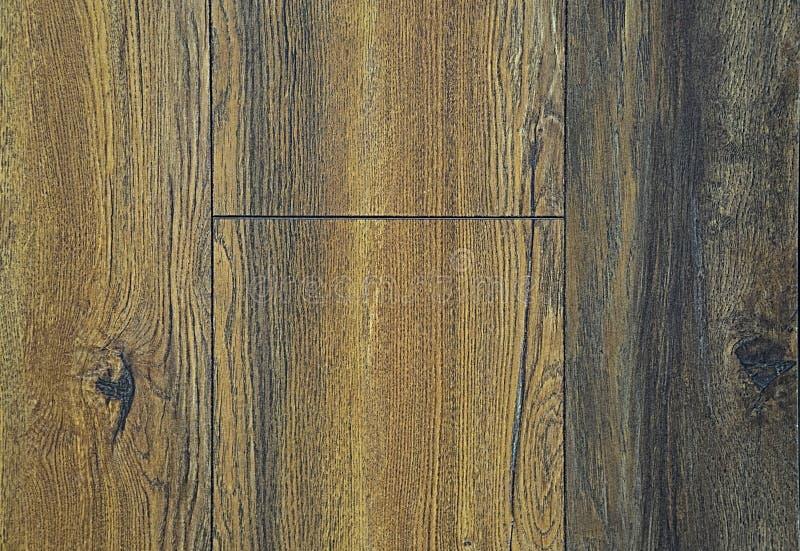 Tekstura drewniane podłogowe deski Szarość, koloru żółtego i błękita tło, Falisty i węźlasty zdjęcia stock