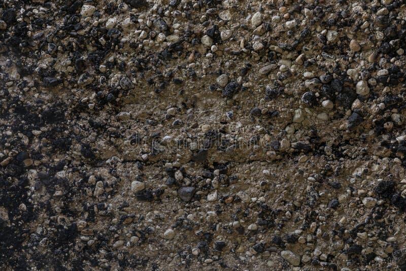 Tekstura drobnych kamieni żwirowych zdjęcia royalty free