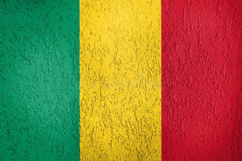 Tekstura flaga Mali zdjęcia stock